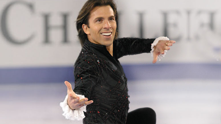 Michael Weiss, US figure skater and patient of Dr. Michael Chung